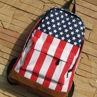 Bestgoods — Cool the Stars and the Stripes Backpack Bag
