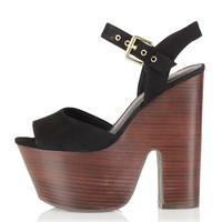 LASSIE Ankle Strap Platforms - Heels - Shoes - Topshop