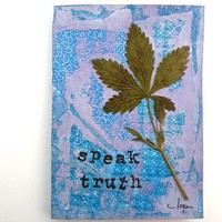 Little Pocket Writing Journal - Speak Truth