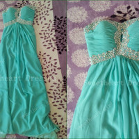 Glamorous Strapless Prom Dress/Graduation Dress