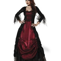 Theatrical Quality Deluxe Gothic Vampiress Adult Womens Costume