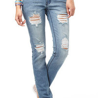 Destructed Bling Jean