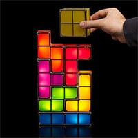 Tetris Stackable LED Desk Lamp