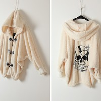 Polar Bear me Softly-the Skull Hoodie
