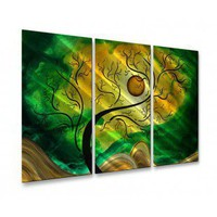 All My Walls Gold Opening Metal Wall Sculpture - MAD00087 - Metal Wall Art - Wall Art & Coverings - Decor