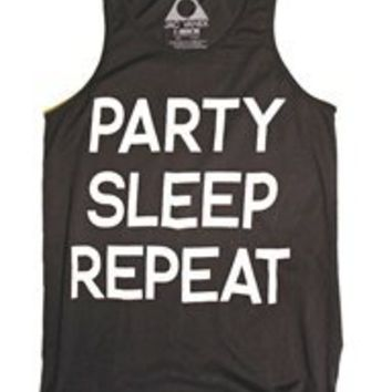 PARTY SLEEP REPEAT Favorite Unisex Tank Top