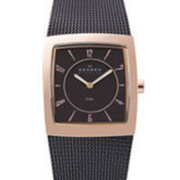 Skagen 'Mesh' Square Case Watch | Nordstrom