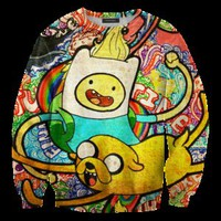 Fly Federation —  adventure time sweater