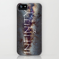INFINITY STARS IN THE MILKY WAY  iPhone Case by Guido Montas | Society6