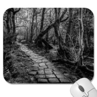 Paved Along the Riverbank Mousepad from Zazzle.com