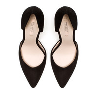 HIGH HEEL VAMP SHOE - High-heels - Shoes - Woman - ZARA United States