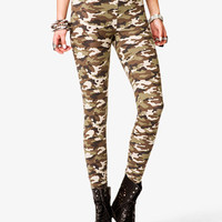 Camo Print Leggings | FOREVER 21 - 2042056685