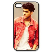 Cool cute One Zayn Malik direction 1D boy band 2 iphone 4 4s case