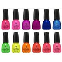 Amazon.com: China Glaze Summer Neons 2012 New Collection: Health & Personal Care