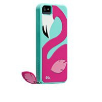 Pinky Silicone Flamingo Case for iPhone 5 | Case-Mate