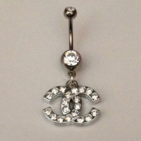 Double C Belly Ring