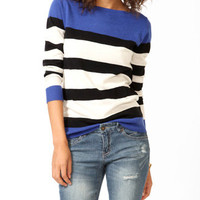 Colorblocked Longline Sweater | FOREVER 21 - 2031556691