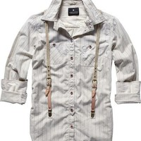 Scotch  Soda: WORKWEAR INSPIRED SHIRT W/SUSP