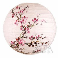 16 Inches Spring Bloom Cherry Blossom Paper Lanterns