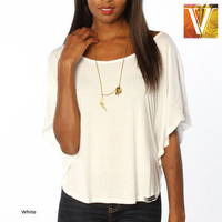 Cassidy Micro-Modal Dolman-Sleeve Top