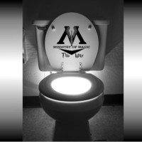 Harry Potter Ministry of Magic This Way Toilet by GoodMommyLLC