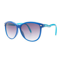 80'S RETRO COLORED GLASSES - Betsey Johnson
