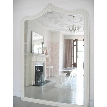 Large louis giant mirror full length from the french for Giant bedroom mirror