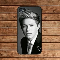 iphone 4 case,iphone 4s case,iphone 4 cover--Niall Horan, ONE DIRECTION ,in plastic or silicone case