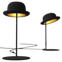 NEW! Jeeves Bowler Hat Table Lamp|Table Lamps|Lighting|French Bedroom Company