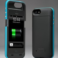 i-Blason PowerPack iPhone 5 Rechargeable External Battery Glider Full Protection Case with Micro 5 Pin USB Charging Port - AT&amp;T, Sprint, Ver