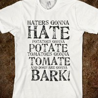 HATERS GONNA HATE - glamfoxx.com