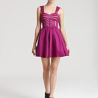 Aqua Dress - Sweetheart Taffeta | Bloomingdale's