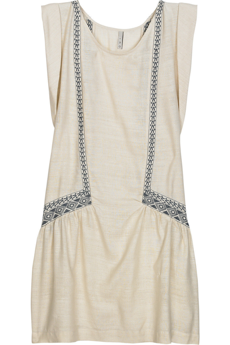 IRO raveh embroidered silk dress