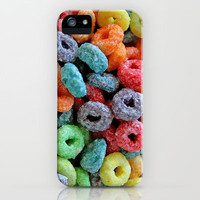 FRUIT LOOPS iPhone Case by David Moreno