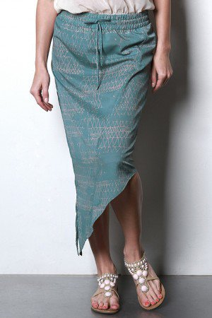 Egyptian Stencil Skirt