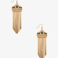 Tribal Inspired Dangling Earrings