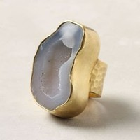 Cloudy Geode Ring - Anthropologie.com