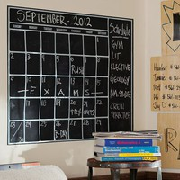 Chalk Calendar Wall Decal