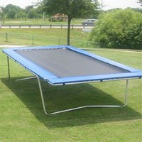 Amazon.com: Regulation Rectangle Trampoline 9 x 15: Sports &amp; Outdoors