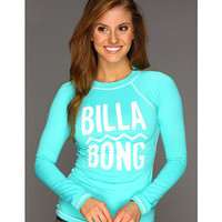 Billabong Jane L/S Rashguard Aquamarine - Zappos.com Free Shipping BOTH Ways