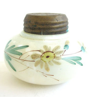 Victorian Handpainted Boudoir Jar Shaker by CarpeDiemTreasures