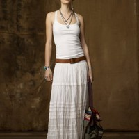 Lace-Trim Ribbed Cotton Tank - Sleeveless   Knits & Tees - RalphLauren.com