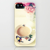 Roses and Chai Tea iPhone Case by Olivia Joy StClaire | Society6
