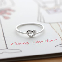 tiny KNOT HEART ring, 3 colors | girlsluv.it