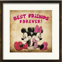 ideeli | DISNEY CHARACTER Mickey and Minnie Best Friends Forever