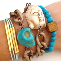 Ocean Breeze Arm Candy Bracelet Set