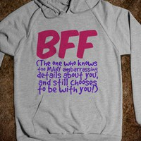 BFF - The One Who Knows Too Many Embarrassing Details - Connected Universe