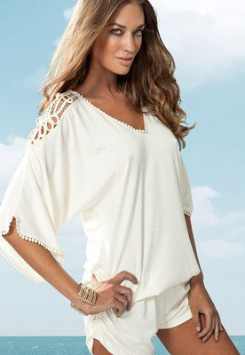 Callisto Jumper - Cream - Dresses & Coverups