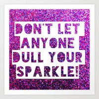 Sparkle Art Print by Jordan Virden