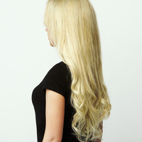 Luxy Hair Clip-In Hair Extensions Bleach Blonde | Color 60 | 160 grams